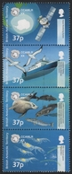 BAT / Brit. Antarktis 2002 - Mi-Nr. 338-341 ** - MNH - Naturschutz - CCAMLR - Ungebraucht