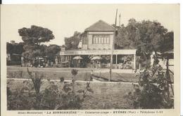 """HYÈRES ( VAR )   HÔTEL-RESTAURANT """" LA BONBONNIÈRE  """" CEINTURON-PLAGE - Restaurants"""
