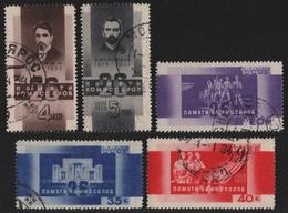Russia / Sowjetunion 1933 - Mi-Nr. 457-461 Gest / Used - Kommissare Von Baku (2) - 1923-1991 UdSSR