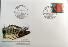 1991 Sonderbeleg Verkehrshaus 6000 Luzern - Switzerland
