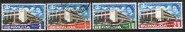 Bermuda Elizabeth II 1967 Set Of Stamps To Celebrate Opening Of New General Post Office. - Bermuda