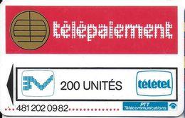 CARTE A PUCE CHIP CARD CARTE TÉLÉPHONE SALON DÉMONSTRATION GSM SPÉCIMEN PTT  TELEPAIEMENT  PUCE FACTICE - France