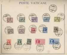 Souvenir De Votre Visite Au Vatican En 1929  Série Et Expressi  Cote 95 € Comme Ø - Lettres & Documents
