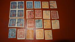 BULGARIE : Petit Lot De 23 Timbres Taxe ................... OG-12 - Segnatasse