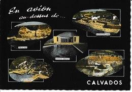 J : CALVADOS :  En Avion Au Dessus De ... ARROMANCHES, DEAUVILLE, PORT En BESSIN, OMAHA-BEACH, Pointe De HOC - Non Classificati