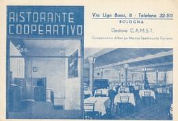 Emilia Romagna - Bologna - Ristorante Cooperativo  - F. Grande - Anni 50 - Particolare - Bologna