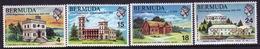 Bermuda Elizabeth II 1970 Set Of Stamps To Celebrate The 350th Anniversary Of Bermuda Parliament . - Bermuda