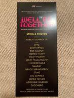 The Rainforest Fund Concert 2019 Program Bruce Springsteen James Taylor Sting Eurythmics Debbie Harry Bob Geldorf - Entradas A Conciertos