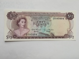 BAHAMAS 50 CENTS 1968 - Bahamas