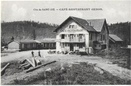 SAINT-DIE 88 VOSGES  COTE DE SAINT-DIE CAFE RESTAURANT GENON  EDIT. CELLARIUS - Saint Die