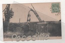 51 MARNE - CP LA NEUVILETTE - LA CROIX DE MISSION - CAP - CIRCULEE - Francia