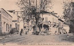 CPA - CAGNES - RUE DU CHEVALIER MARTIN #9P12 - Cagnes-sur-Mer