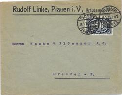 DR Infla Brief EF Mi.246 A Plauen 31.1.23 - Germania