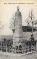 Bouthéon (Loire) Monument Des Combattants, à Ses Enfants Morts Pour La Patrie - Edition Gay - Carte Non Circulée - Andrézieux-Bouthéon