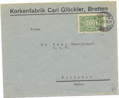 DR Infla Brief EF Mi.249 Bretten 5.7.23 - Germania