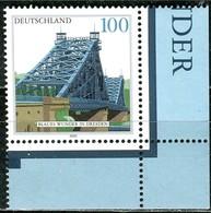 A10-32-9) BRD - Mi 2109 ECKE REU - ** Postfrisch (A) - 100Pf    Elbbrücke Dresden - [7] República Federal