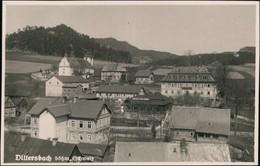 Postcard Dittersbach (Böhm. Schweiz) Jetřichovice Straßenpartie 1927 - Tschechische Republik