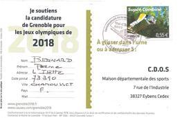 2009 Candidature De Grenoble Aux Jeux Olympiques D'Hiver 2018 - Winter 2018: Pyeongchang