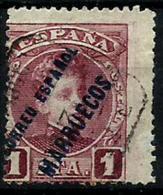 Marruecos Nº 11 Usado - Marruecos Español