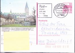 BRD FGR RFA - Bildpostkarte Paderborn (Mi.Nr. P 138 O 1/1) 1984 - Gebraucht - [7] Repubblica Federale