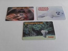 UK - 3 Nice Chipphonecard Animals - Regno Unito
