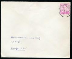 """BELGIE - Enveloppe - Cachet  """"GELUVELD"""" Litt. B - (ref. BR-156) - 1953-1972 Lunettes"""