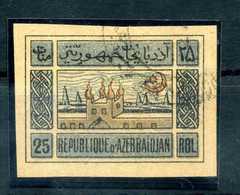 1919/20 AZERBAIGIAN N.9a USATO (gum On Back) - Azerbaiyán