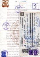 Bolivia 1967  $b1.- Papel Sellado Tipo PS #78, H&A Tipo 123. Letra Bs4.000.- (Inflación), H&A #121 - Bolivia
