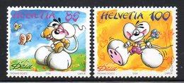 Suisse Helvetia 1802/03 Diddl, Souris, Papillon - Comics