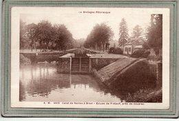 CPA -environs De GOUAREC (22)- PRELAUFF - Aspect Des Chemins De Halages Et De L'écluse Du Canal De Nantes à Brest - 1930 - Francia