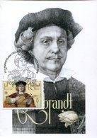49911 Vaticano, Maximum 2019  Painting Of Rembrandt Of Marina Richterova, - Rembrandt