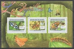 BC283 2011 GUINEE GUINEA FAUNA BUTTERFLIES LES PAPILLONS 1KB MNH - Schmetterlinge