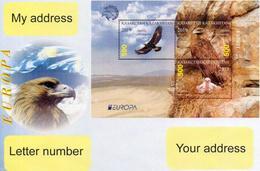Kazakhstan 2019.  A Letter To Your Address. Europe. Europa - CEPT. National Birds. Golden Eagle. - Kazakhstan
