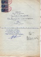 VP16.436 - 1953 - Plan De La Sté S.N.C.F Région Du Sud Ouest - Gare De TOURS ( Champs Girault ) Embranchement à MARTINON - Planches & Plans Techniques