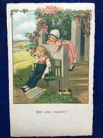 """Cpa--""""Qui Aime,taquine!""""-Pauli Ebner (my Ref PE16)-1929 - Ebner, Pauli"""