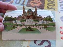 45 - CPA, Carte à Système,chevalet,  Exposition Universelle De 1900, Le Trocadéro - Expositions