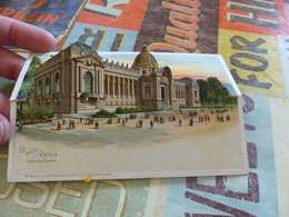 46 - CPA, Carte à Système,chevalet,  Exposition Universelle De 1900, Le Petit Palais - Expositions