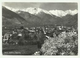 AOSTA - PANORAMA - VIAGGIATA  FG - Aosta