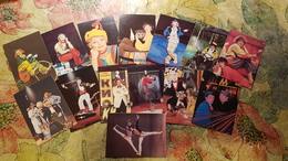 USSR - Small Calendar -  1980s - Circus - 14 Calendars - Calendriers