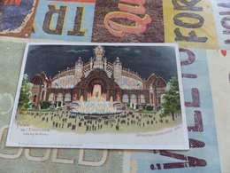 50 - CPA, Carte à Système,chevalet, Exposition Universelle De 1900,  Palais De L'Electricité, Champ De Mars - Exposiciones
