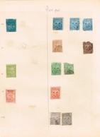 Mexique. Anciens Timbres à Identifier - Postzegels
