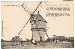Guérande / Le Moulin De Crémeur Dit Moulin Du Diable / 1907 - Guérande