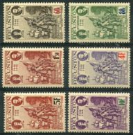 Reunion (1943) N 180 à 185 * (charniere) - Réunion (1852-1975)