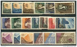 Reunion (1947) N 262 à 280 * (charniere) - Réunion (1852-1975)