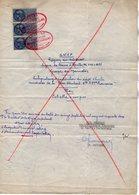 VP16.438 - 1952 - Plan De La Sté S.N.C.F Région Du Sud Ouest Ligne De TOURS à NANTES - Embranchement à Sté ESSO STANDARD - Planches & Plans Techniques