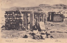 Egypte Thebes Ramesseum - Otros