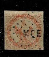 Colonies Françaises, Emissions Générales TP N ° 5, Oblitération Martinique - Aigle Impérial