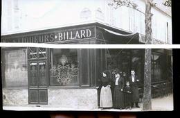 PARIS VINS ET LIQUEURS BILLARD PLACE BEAUQUE...... RUE CHARLES       CARTE PHOTO  RARE - Distretto: 15