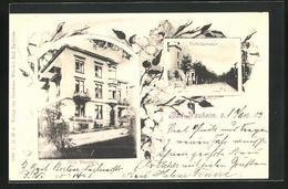 AK Bad Nauheim, Hotel Villa Westfalica, Victoriastrasse - Bad Nauheim