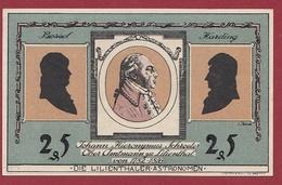 Allemagne 1 Notgeld 25 Pfenning  Stadt Lilienthal (SERIE COMPLETE) Dans L 'état N °5341 - Collections